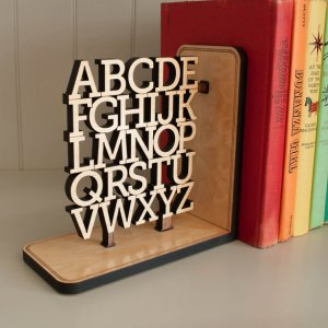ABC bookend