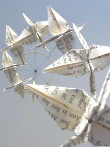 book crane mobile