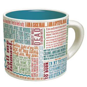 greatest first lines mug